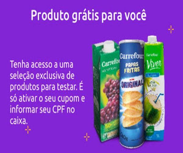 Produtos Carrefour Grátis