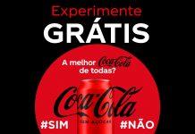 Cashback Coca-Cola Sem Açúcar – A Melhor Coca-Cola de Todas.